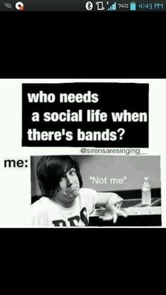 <3 i wuv my bands