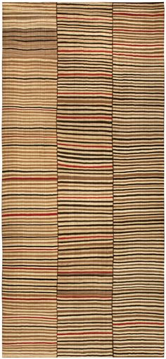 Persian rugs: Persian rug (antique) rug in beige color, oriental rug, stripes pattern for modern, elegant interior decor, rug in living room #rug #persianrug
