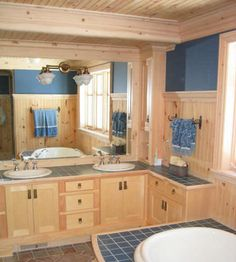 Knotty Pine V-board and Trims
