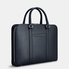 Made in Italy with full-grain, vegetable-tanned leather. A contemporary briefcase acting as a personal portfolio; an everyday companion for the modern gentleman. Leather Laptop Bag, Leather Briefcase, Laptop Bags, Men's Briefcase, Laptop Backpack, Office Bags For Women, Briefcase Women, Leather Bags Handmade, Leather Men
