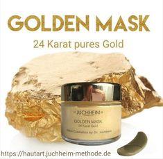 Die luxuriöse Golden Mask mit 24 Karat purem Gold ist eine Wohltat für Ihre Haut. Pures Gold in Kombination mit nährenden Inhaltsstoffe, gewonnen aus dem Harz der wilden Pinie, helfen das Hautbild zu verfeinern, die Ausstrahlung zu verbessern, Hautunreinheiten zu mildern und Fältchen und Linien zu glätten. Der Teint wirkt seidig und glatt, erhält einen wundervollen Glow und erscheint natürlich regeneriert. Gold, Pine Tree, Smooth, Yellow