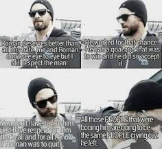 seth rollins | Tumblr <<< So. Ok. We see eye to eye on this one, that's a new one lol.