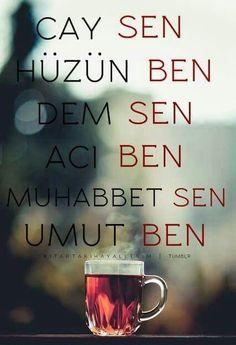 Bekliyorum seni bir umutla güzel gözlüm 😞 Turkish Tea, Tumblr, Tea Time, Quotations, Best Quotes, Thoughts, Mugs, Coffee, Tableware
