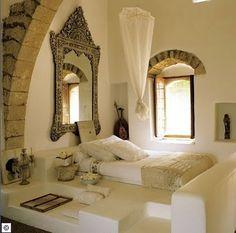 Ideas Home Interior Design on Moroccan Bedroom Decor Ideas Photos . Moroccan Bedroom, Moroccan Interiors, Moroccan Decor, Moroccan Style, Ethnic Bedroom, Moroccan Mirror, Moroccan Design, Oriental Bedroom, Modern Moroccan