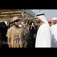 Juma DJM and Mohammed RSM, 2nd CSIM Military World Endurance Championship-Dubai 06-03-14. Photo: morhafalassaf