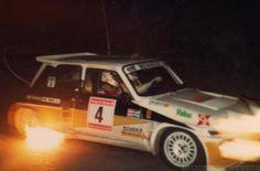 Carlos Sainz - Antonio Boto  23º Rally Principe de Asturias 1986. Renault 5 Maxiturbo. Clasificado 2º.  Tan solo a 2m 1s de un tracción total como el Lancia Delta S4 de Fabrizio Tabaton - Luciano Tedeschini.
