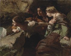 James Sant : Courage, Anxiety and Despair Watching the Battle