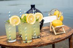 DIY Wedding Planning | Navy & Lemon #nauticalwedding