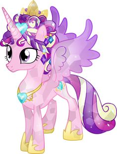 My little pony crystal Princess Cedence Princess Cadence, My Little Pony Princess, Mlp My Little Pony, My Little Pony Friendship, Pony 2, Mlp Pony, Happy Birthday To You, Mom Drawing, Crystal Ponies