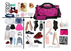 """""""What's in my dance bag"""" by dzenajlaponjevic on Polyvore"""