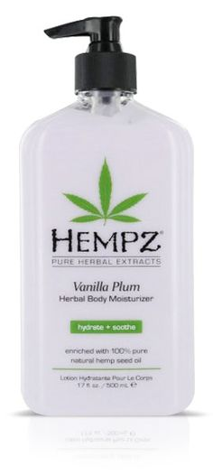 Hempz Vanilla Plum Herbal Body Moisturizer is amazing!
