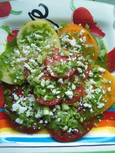 Summer tomato salad with salsa verde-middle