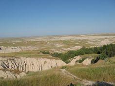 The Badlands, South Dakota.