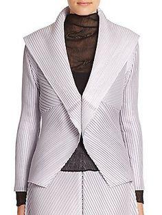 Issey Miyake Pleated Evening Jacket