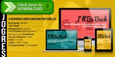 [ThemeForest]Free nulled download Be Back - Responsive Under Construction Theme from http://zippyfile.download/f.php?id=3310 Tags: background, bootstrap, colors, coming soon, countdown, css, fullscreen, html, java script, jquery, maps, minimal, responsive, social media, under constructor
