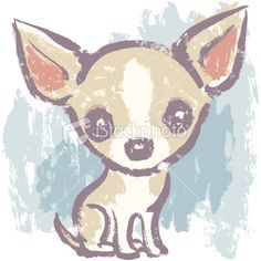 Effective Potty Training Chihuahua Consistency Is Key Ideas. Brilliant Potty Training Chihuahua Consistency Is Key Ideas. Chihuahua Tattoo, Baby Chihuahua, Chihuahua Drawing, Baby Dogs, I Love Dogs, Cute Dogs, Akita Dog, Dog Art, Dog Pictures
