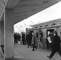 """Metro """"Zhdanovskaya"""", 1972"""