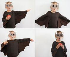 Cómo hacer un disfraz casero de murciélago