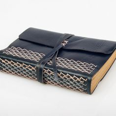 idea for making the tea wallets with fold over and tie