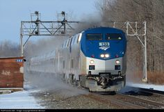RailPictures.Net Photo: AMTK 139 Amtrak GE P42DC at Rochester, New York by Brian Benson
