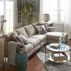 Pier 1 Imports Build Your Own Alton Ecru Rolled Arm Sectional Collection Sectional Furniture, Living Room Furniture, Home Furniture, Sectional Sofas, Wooden Furniture, Cheap Furniture, Furniture Websites, Furniture Movers, Apartment Furniture