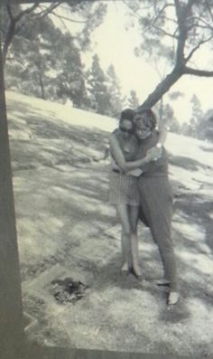 The author Nermin Bezmen (Kert Seyit's grandaughter), and Sandra Wells (Şura's daughter.).over Şura's tomb.   Forest Lawn Memorial Park Glendale, California, USA, 1994