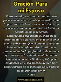 Holy Spirit Prayer, God Prayer, Prayer Quotes, Bible Quotes, Text Messages Love, Condolence Messages, Romantic Spanish Quotes, Catholic Prayers In Spanish, Good Night Prayer
