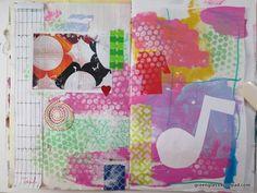 LizzieBo / Green Glass sketchbook