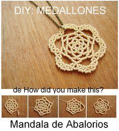 en-rHed-ando: Como hacer Medallones Mandala