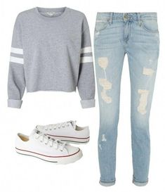 Get the latest trends, superstar designs and style right on the catwalk - Frauen Mode - School Outfits Highschool Cute Middle School Outfits, Cute Teen Outfits, Teenage Girl Outfits, Back To School Outfits For Teens, Middle School Fashion, Summer Outfits, Cute Outfit Ideas For School, Teen Winter Outfits, Outfit Winter