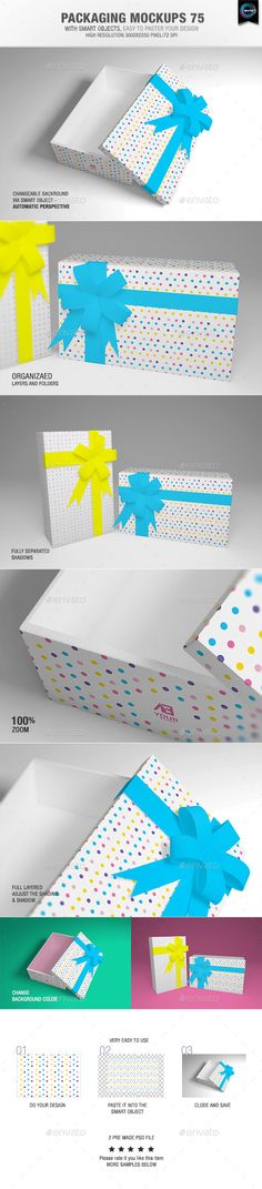 Packaging Mock-ups 75 - Packaging Product Mock Up Template PSD. Download here: http://graphicriver.net/item/packaging-mockups-75/10121592?s_rank=97&ref=yinkira
