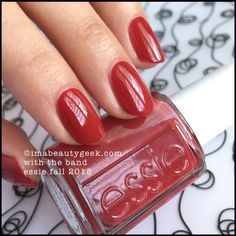 """Essie """"With the Band"""" nail polish from Essie Fall 2015 collection. Essie Nail Polish, Nail Polish Colors, Nail Manicure, Nail Colour, Nail Polishes, Gel Nail, Manicures, Pretty Nail Colors, Pretty Nails"""