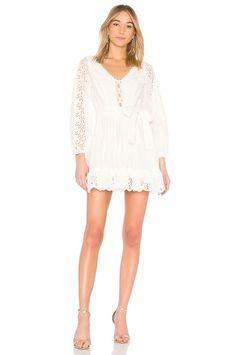 ZIMMERMANN HELM EYELET VINE DRESS. #zimmermann #cloth #