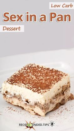 """This chocolate low carb sex in a pan recipe is one of the best low carb desserts ever. If you're looking for delicious keto desserts that everyone else will love too, this is for you."" Low Carb Sex in a Pan Dessert - You must try this recipe. Sugar Free Desserts, Dessert Recipes, Keto Desserts, Fluff Desserts, Mini Desserts, Dessert Ideas, Low Carb Deserts, Atkins, Chocolate Shavings"