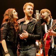 Lady Antebellum is my favorite band. I had the amazing opportunity to meet Hil, Charles and Dave and they were the most genuine people. So talented and their lyrics are beautiful.