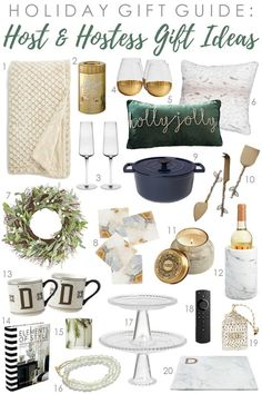 A comprehensive selection of gift ideas for hostess gift ideas for the holiday season. A comprehensive selection of gift ideas for hostess gift ideas for the holiday season. Christmas Gift Guide, Christmas Fun, Holiday Gifts, Christmas Decorations, Holiday Decor, Xmas, Shabby Chic Interiors, Shabby Chic Decor, Tin Gifts