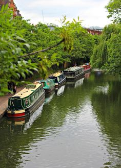 London, Regents Park & Marylebone, Regents Canals - the next time we're in London, I want to visit places I haven't seen before . England And Scotland, England Uk, London England, Visit England, Places To Travel, Places To See, Hidden Places, Regents Canal, London Places