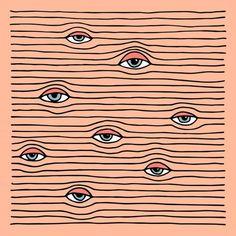 sleepy creepy eyes & wrinkles