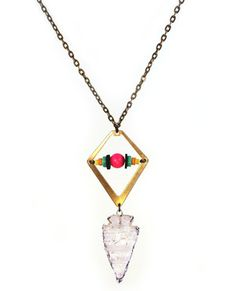 arrowhead necklace pretty unique