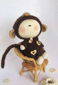c7b0cf97bf68 27 Best Knitted Doll Patterns images