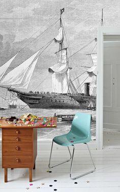 Les 25 meilleures id es de la cat gorie poser du papier peint sur pinterest peindre du papier - Poser de la tapisserie intissee ...