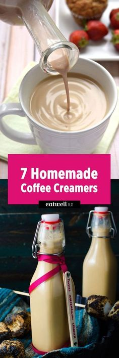 Check these homemade coffee creamer recipes and be your own barista today! : Check these homemade coffee creamer recipes and be your own barista today! Homemade Coffee Creamer, Coffee Creamer Recipe, Iced Coffee, Coffee Drinks, Coffee Syrups, Coffee Life, Coffee Blog, Iced Latte, Yummy Drinks