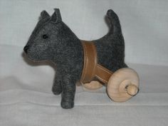 Indigo Jones Wheelchair Dog. $35.00, via Etsy.