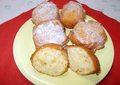 Joghurtos gyors fánk | Fehér Katica receptje - Cookpad receptek Choco Fresh, Pretzel Bites, Donuts, French Toast, Mango, Muffin, Food And Drink, Sweets, Bread