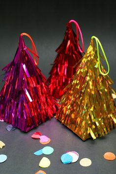 Piñata Ornaments   62 Impossibly Adorable Ways To Decorate This Christmas