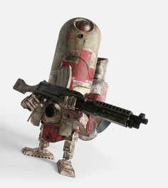 Ashley Wood - World War Robot - Armstrong the Medic