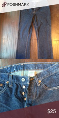 Gap button fly Jean NWOT 2 Dark rinse Gap button fly jeans NWOT GAP Jeans Straight Leg