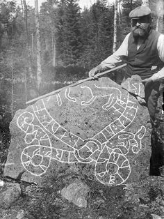 Rune stone, Västerby, Sorunda, Södermanland, Sweden | by Swedish National Heritage Board