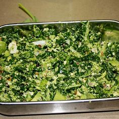Kale, broccoli and almond salad by Sunshine Mumma on www.recipecommunity.com.au
