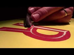 Danthonia Designs: How to Carve a Letter - Part 3 - YouTube